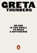 No One Is Too Small to Make a Difference | 9780141991740 | Thunberg, Greta