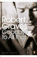 Goodbye to All That | 9999902566084 | Robert Graves
