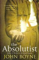 The Absolutist | 9999902476680 | John Boyne